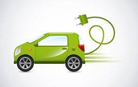 disegno auto con spina elettrica