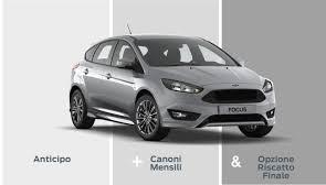 esempio schermata sito ufficiale leasing ford