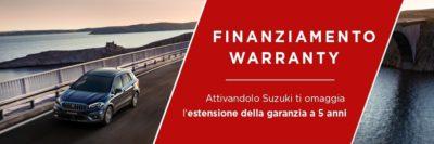 finanziamento warranty