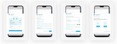schermata mobile pagantis